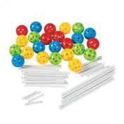 Fun Express Plastic Ball Shaped Building Set