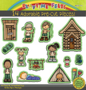Let's Go Camping Precut Felt Story Set for Flannel Boards