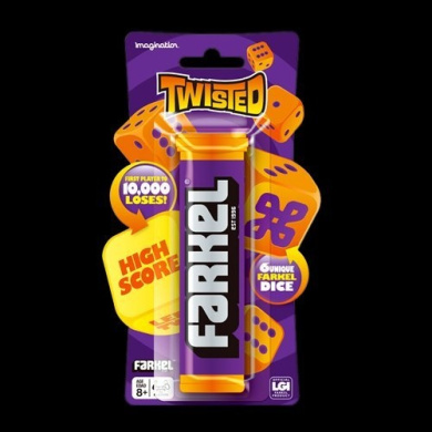 Farkel Game Hanging Twisted from Imagination Games