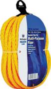 Wellington Cordage 77840cm x 15m Yellow Monofilament Polypropylene Rope - Quantity 1