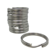 Scuba Choice Diving 32.3mm Stainless Steel Split Ring for BCD Attachment (10-Piece), 2.0mm