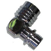 Scuba Choice Scuba 90-Degree Swivel Adaptor 9/16-18 UNF-2B | 9/16-18 UNF-2A LP Hose Regulator