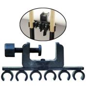 Adjustable Porpers C-Clamp 6 Cue Holder