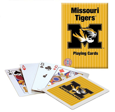 Collegiate Playing Cards - University of Missouri