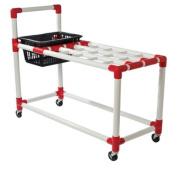 Tennis Racket Storage Cart