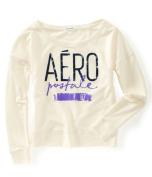 Aeropostale Womens Aero Wide Crew Sweatshirt 107 XL