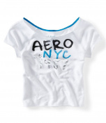 Aeropostale Womens Ss Sleep Sweatshirt 102 XS