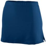 Augusta Sportswear WOMEN'S POLY/SPANDEX TEAM SKORT 2XL NAVY