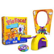 Hilarious Pie Face Game Toy , Yellow
