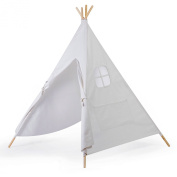 Free Love @4-poles pure white kids play tent playhouse kids game room indian teepee