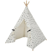 Free Love @black star design kids play tent indian teepee playhouse