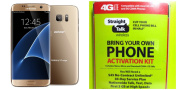 "Straight Talk for for for for for for for for for for Samsung Galaxy S7 Edge ""Gold Platinum "" 32GB runs on Verizon's 4G XLTE Via Straight Talk's $45.00 5GB Unlimited talk & Text ""Service Card Not included"""