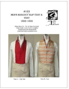 Sewing Pattern - 1806 - 1830 Men's Regency Slip Vest & Vest Pattern