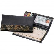 Legendary Whitetails Mossy Oak Leather Camo Chequebook Cover