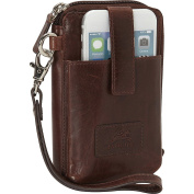 Mancini Leather Goods Cell Phone RFID Wallet