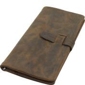 Vagabond Traveller Leather Slim Long Wallet