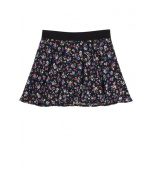 Justice Girls Floral Glitter Skater Mini Skirt 610 5