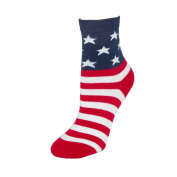 K. Bell Kids Cotton USA American Flag Socks