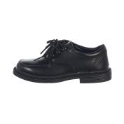 Lito Big Boys Black Lace Up Matte Special Occasion Dress Shoes 5 Kids