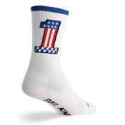 SockGuy SGX 15cm Evel 1 Performance Cycling/Running Socks