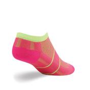 SockGuy Channel Air No-Show Punchbowl Cycling/Running Socks