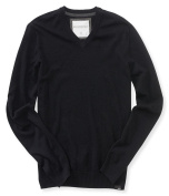 Aeropostale Mens Solid Pullover Sweater 001 XL