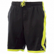 Nike Men's NESS4347 Dri-Fit Pine Green Swim Shorts Swimwear Sz