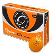 OPTIMA CS Golf ball 6 pack Orange
