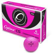 OPTIMA CS Golf ball 6 pack Pink