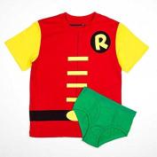 DC Comics Robin Boy's Shirt/Underwear Underoos Set X-Small 4