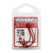 Wasabi Suicide Hook Red 7/0 Small Pack