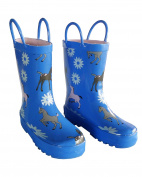 Blue Pony Toddler Boys Girls Rain Boots 9