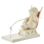 Snowbabies Department 56 Classics the Art of Fishing Figurine, 9.5cm