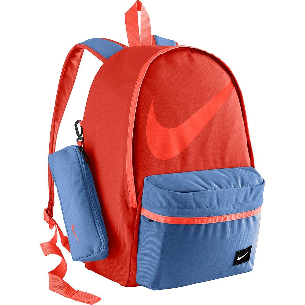 b5e534bd7c0b Nike Junior Halfday Back To School Backpack Red Blue 23L by Nike ...