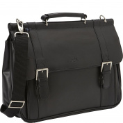 Mancini Leather Goods Business Briefcase for 40cm Laptop and Tablet