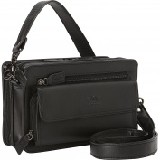 Mancini Leather Goods Compact Unisex Bag