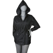 ShedRain Womens Packable Fashion Solid Colour Anorak Rain Jacket