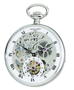 Charles-Hubert, Paris 3971-W Premium Collection Analogue Display Mechanical Hand Wind Pocket Watch