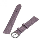 Debeer Lilac 16 mm Wide Genuine Lizard Leather Strap