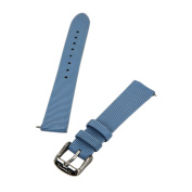 Invicta Light Blue 16 mm Wide Genuine Leather Strap