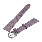 Debeer Lilac 18 mm Wide Genuine Lizard Leather Strap