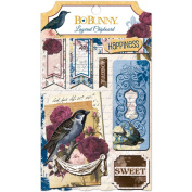 Rose Cafe Self-Adhesive Layered Chipboard-