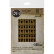 Sizzix Texture Fades A2 Embossing Folders-On The Go By Tim Holtz