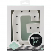 Heidi Swapp Marquee Love Letters, Numbers & Shapes 22cm