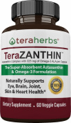 Astaxanthin Complex with 325 mg of Omega 3 ALA per Capsule. 60 Veggie Licaps ®