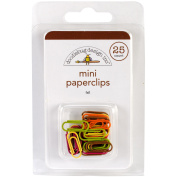 Friendly Forest Mini Paperclips 25/Pkg-Fall