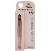 Tulip Beading Needles Size #12 47.5x0.35mm - 2 Pack