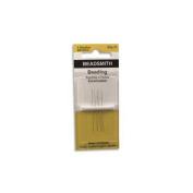 Beadsmith English Beading Needles Size 15 - 4 Needles