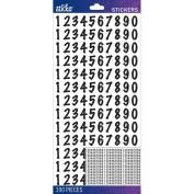 Sticko Numbers Stickers-Black Dot Medium