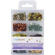 Cup Sequins 7mm 15ml-Dazzling Metallics